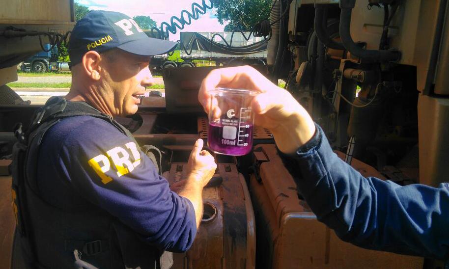 PRF aborda caminhão após denúncia de direção perigosa e flagra crime ambiental