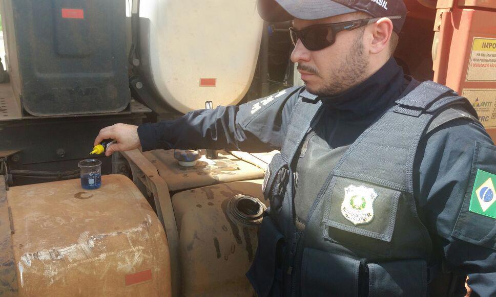 PRF apreende quatro caminhões por crime ambiental no Tocantins