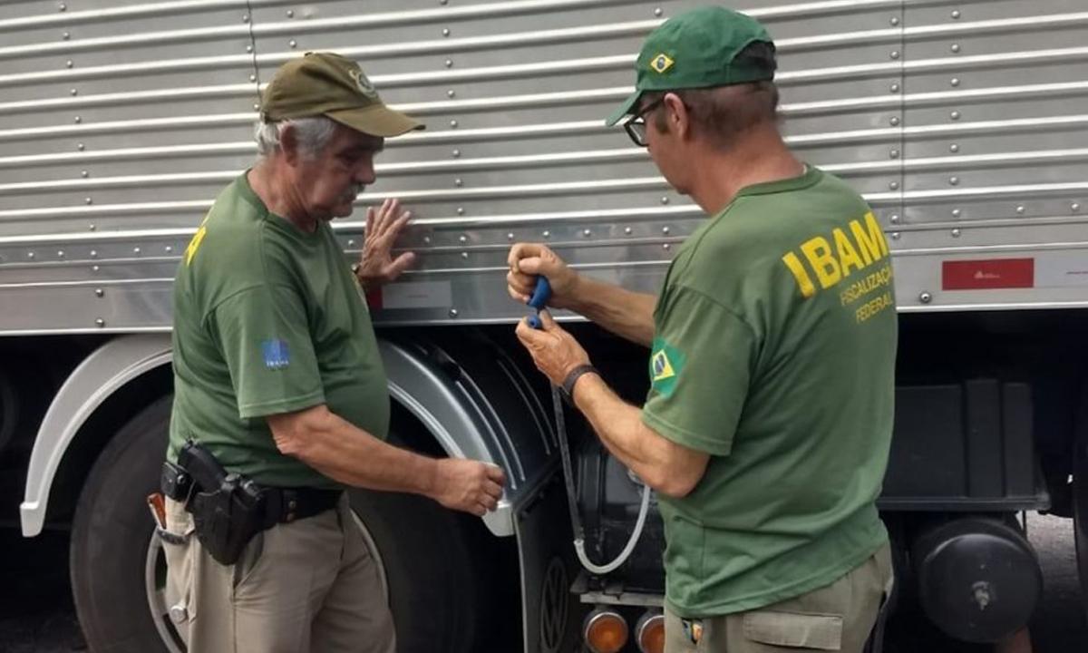 Ibama realiza Operação para a verificação de cargas de produtos químicos perigosos