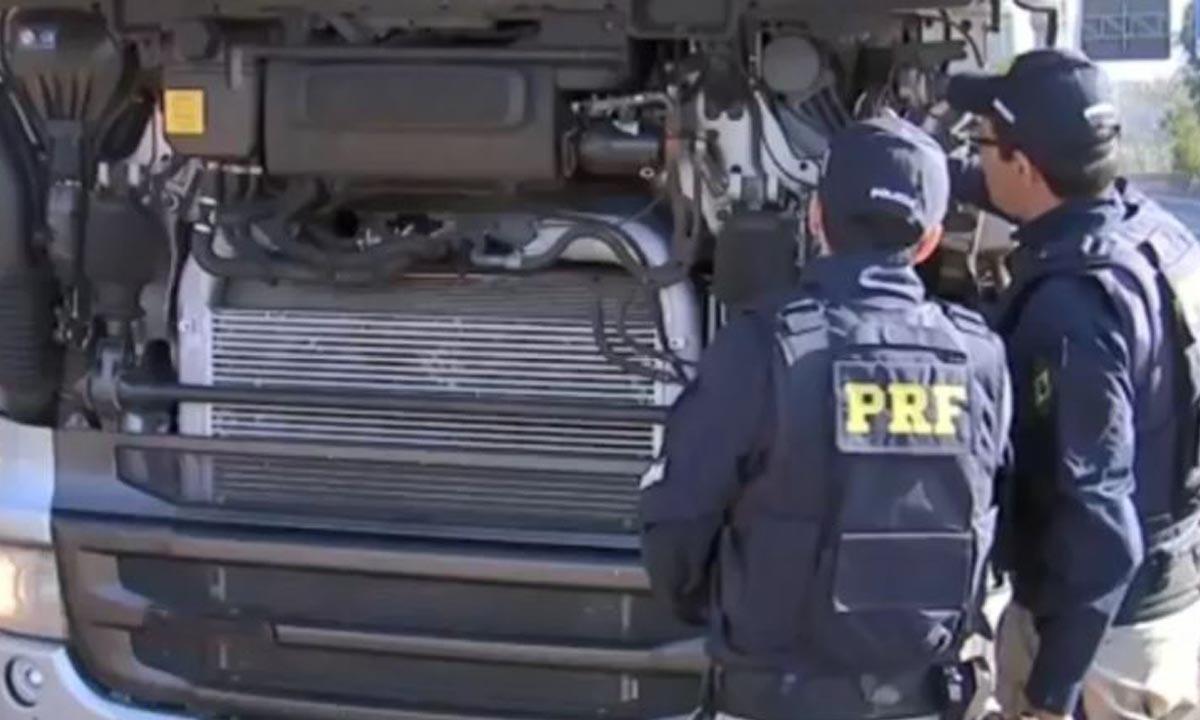 Operação Molécula Quebrada: Polícia Rodoviária Federal e Ibama fiscalizam veículos contra poluição do ar